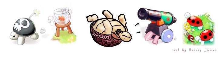 Tortoise - Hausmynd